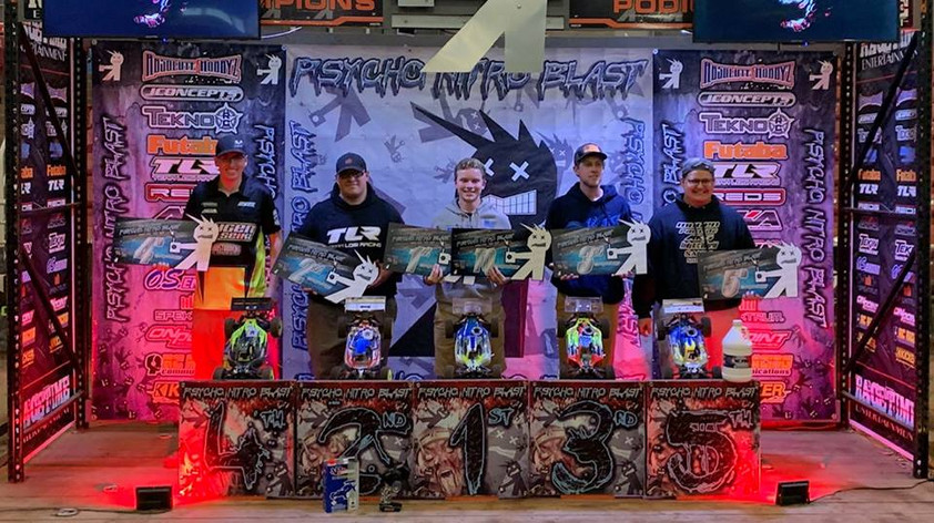 Mugen Seiki Racing would like to congratulate Ben Pinover for TQing and Winning the Psycho Nitro Blast!