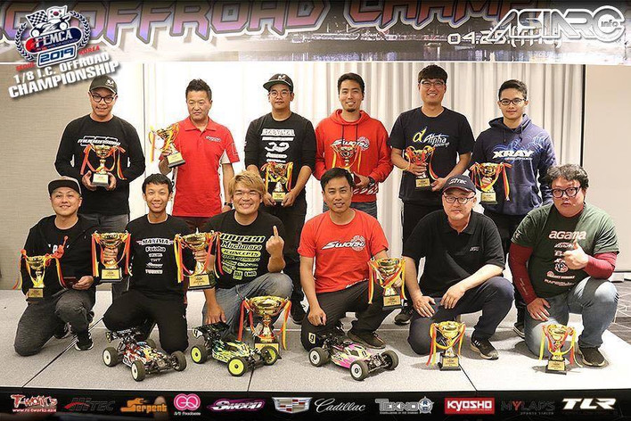 Mugen Seiki Racing would like to congratulate Shin Adachi for winning FEMCA!