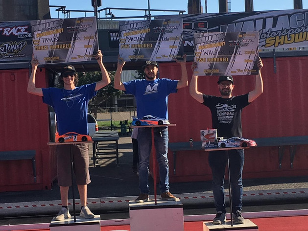 Mugen Seiki Racing would like to congratulate Michael Palazzola and Taylor Elias for finishing 1st and 2nd at Steel City Speedway for the Wallace Motorsports Challenge!