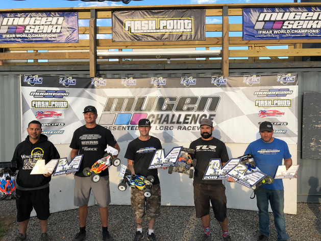 Mugen Seiki Racing would like to congratulate Anthony Mazzara for winning the Mugen Challenge at LCRC Raceway!