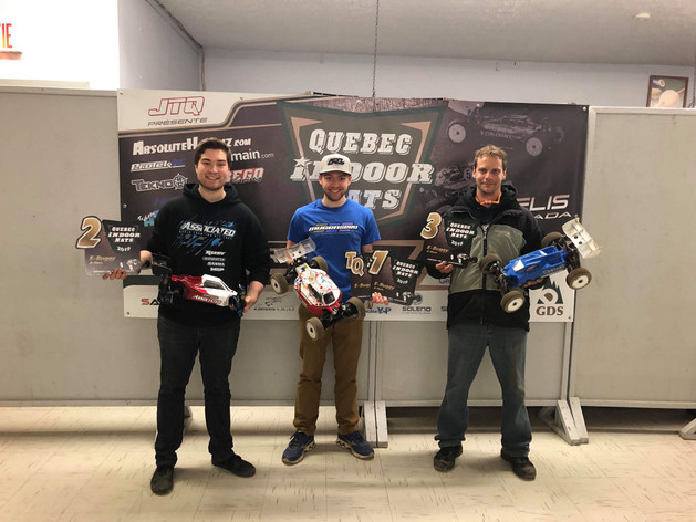 Sam Langer sweeps the Quebec Indoor Nationals