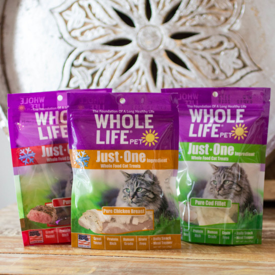 Whole Life Pet - Just One Treats for Cats
