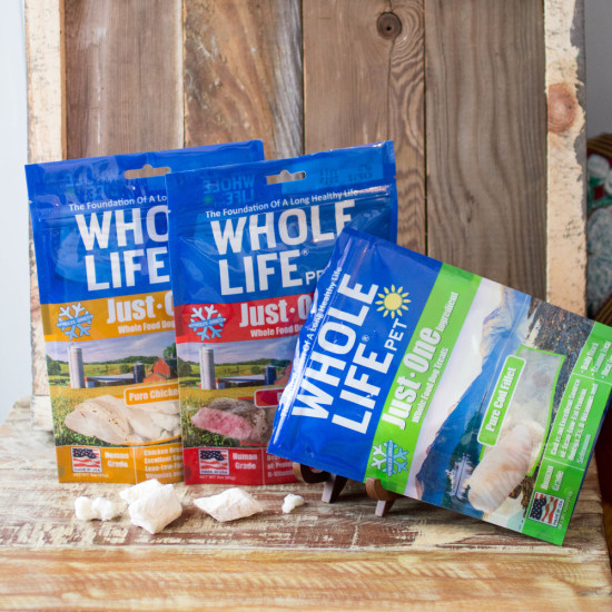 Whole Life Pet Just One Treats for Dogs
