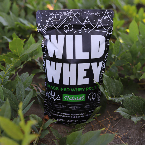 Wild Grass-Fed Whey Protein