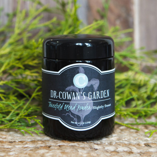 Dr. Cowan's Garden Threefold Blend Powder (Slightly Sweet)