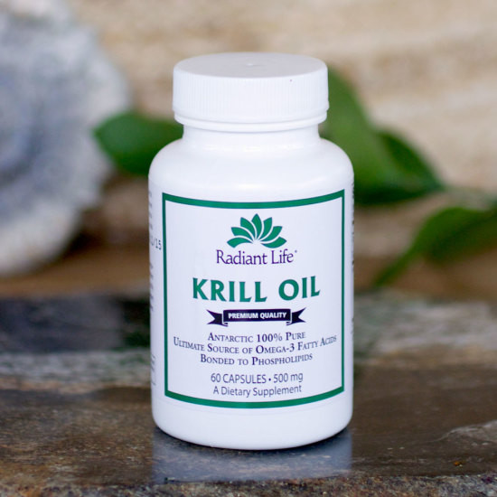 Radiant Life Pure Krill Oil 60 caps