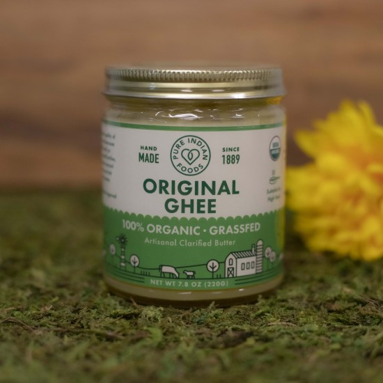 Pure Indian Foods Grassfed Ghee 7.8 oz