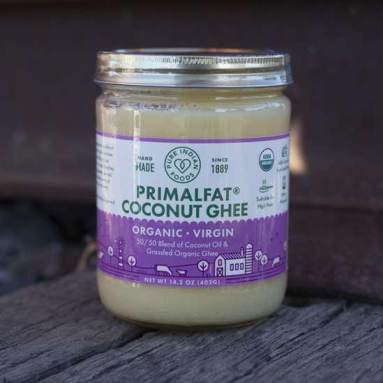 Pure Indian Foods PRIMALFAT Coconut Ghee