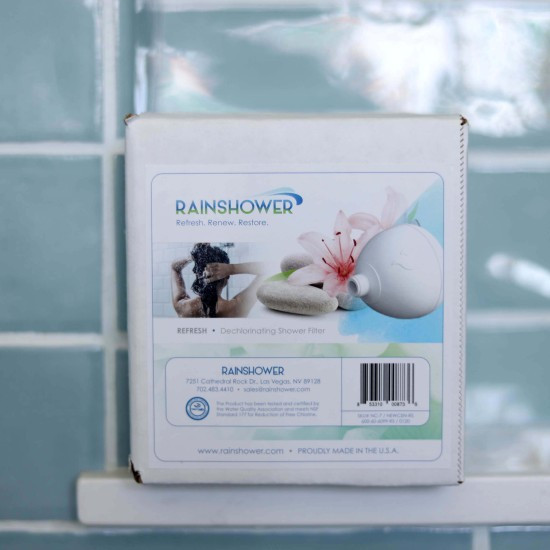 033002 - Rainshower New Century Shower Filter