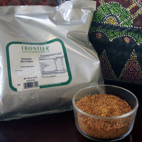 Bee Pollen Granules 1 lb Bag
