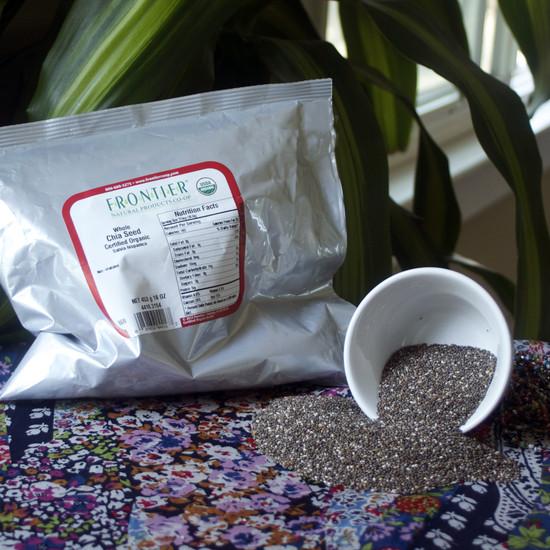 023005 - Organic Whole Chia Seed 1 lb Bag