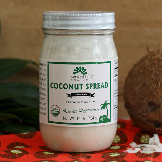 013005 - Radiant Life Coconut Spread - 16 oz