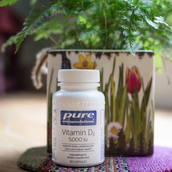 Vitamin D3  - 5000 IU