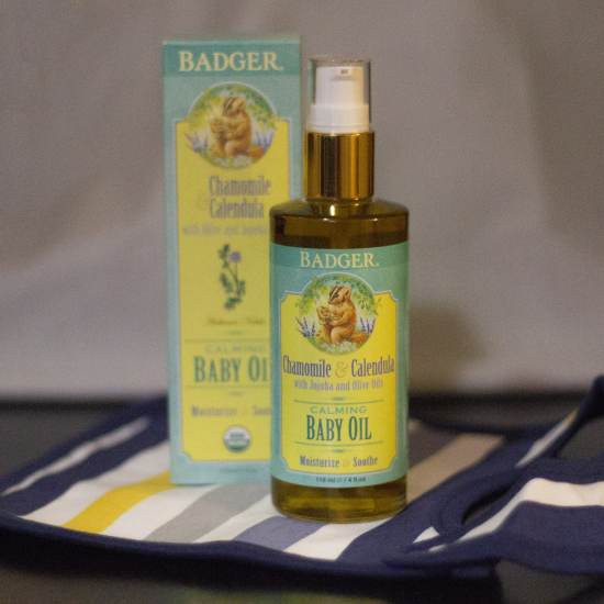 Calming Baby Oil - 4 fl oz