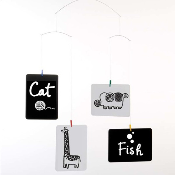 Wee Gallery Postcard Mobile by Flensted