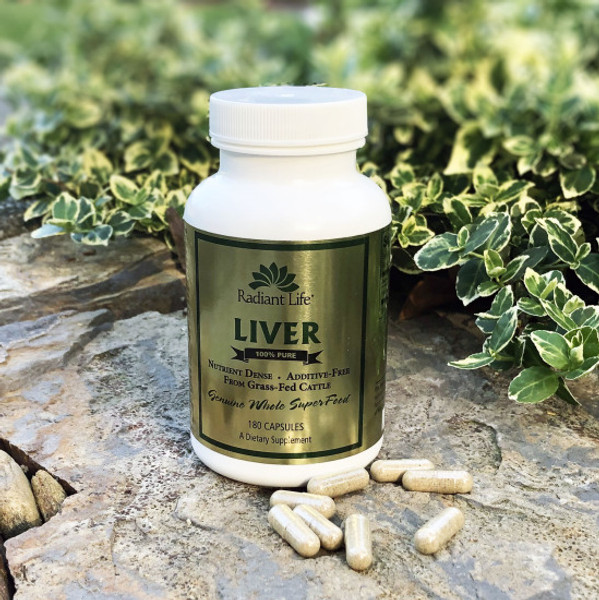 Radiant Life Desiccated Liver Gold Capsules
