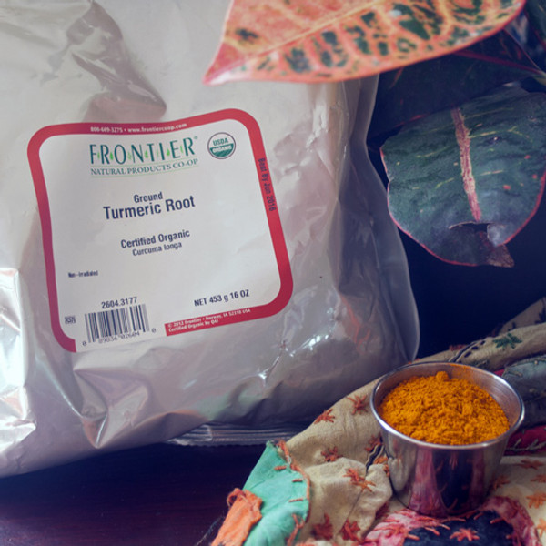 023008 - Organic Turmeric Root Powder 1 lb Bag