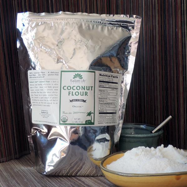 Radiant Life Coconut Flour - 2.2 lbs