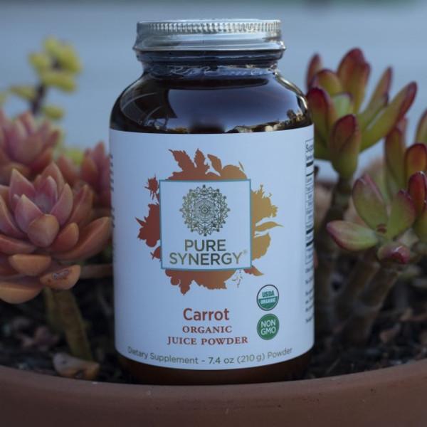 Organic Carrot Juice - 7.4 oz Powder