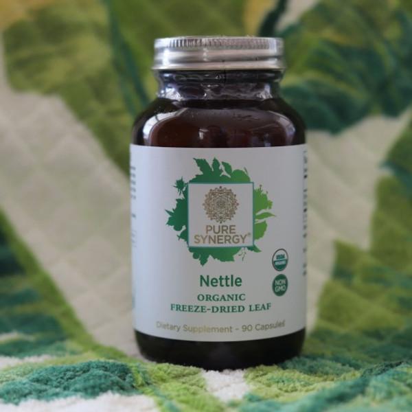 016035/016036 - Organic Nettle Leaf powder, or 90 caps