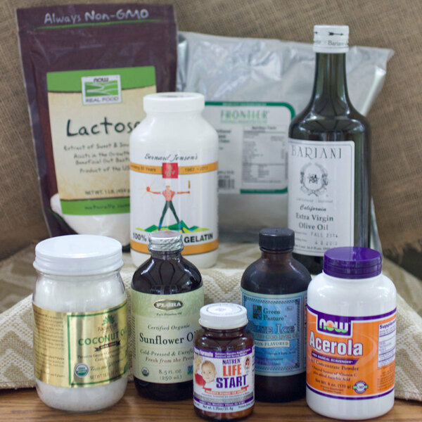 Nourishing Traditions Kit for Homemade Baby Formula - Domestic Version