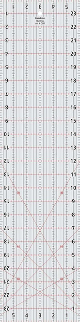 """Patchwork Quilting Ruler 6"""" x 24"""""""