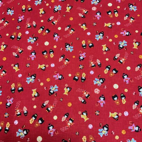 Kimono Girls, Small Red