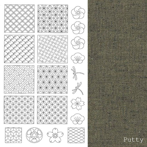 Sashiko Panel Putty