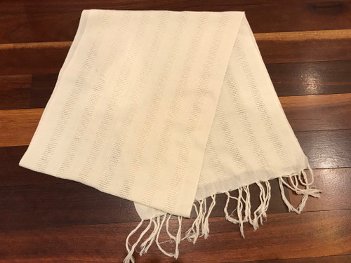 Cotton scarf for dyeing