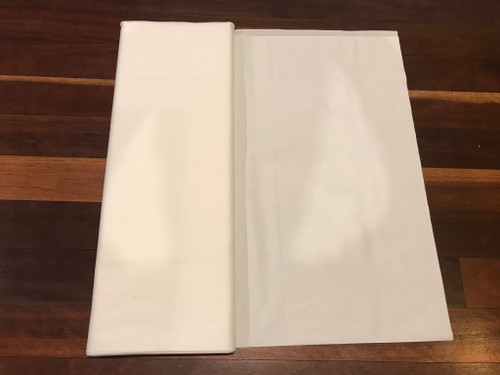 Prepared for Dyeing (PFD) plain white fabric