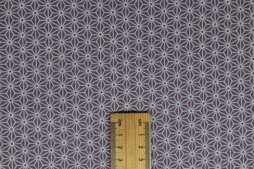 Asanoha, small lavender