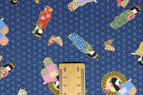 Kimono Girls, blue