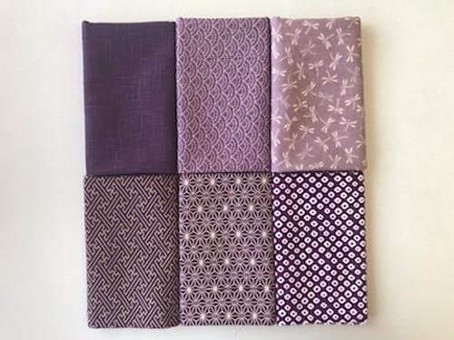 Murasaki Purples Fabric Bundle