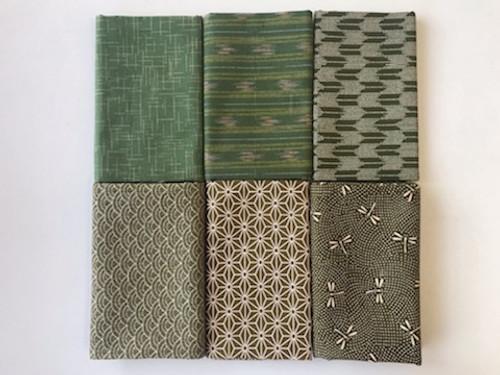 Midori Greens Fabric Bundle