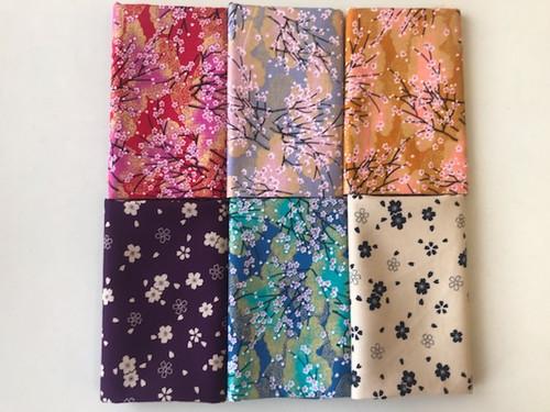 Sakura Cherry Blossom Fabric Bundle