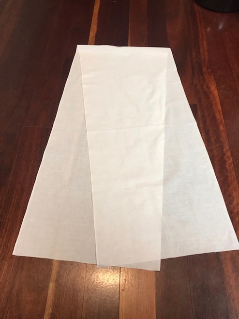 Japanese sarashi cotton scarf for dyeing