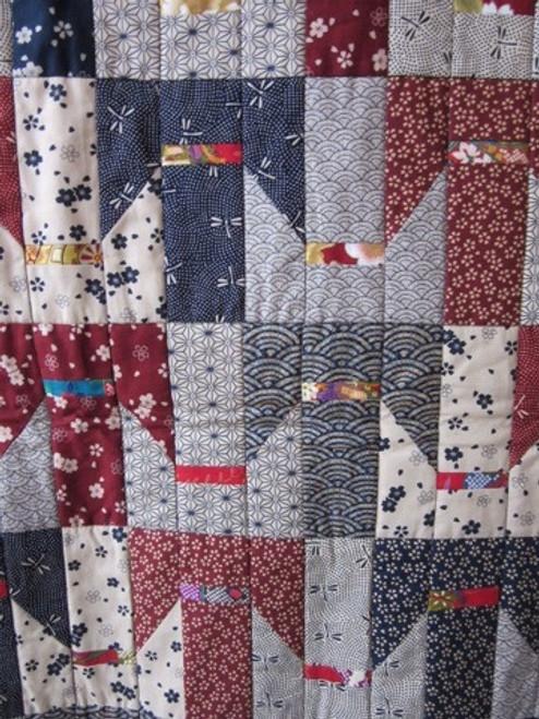Tessellated Kimono Quilt pattern