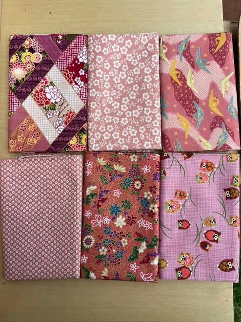 Pinks Fabric Bundle
