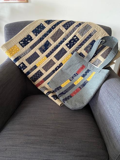 Tobi-Ishi Quilt and Bag pattern