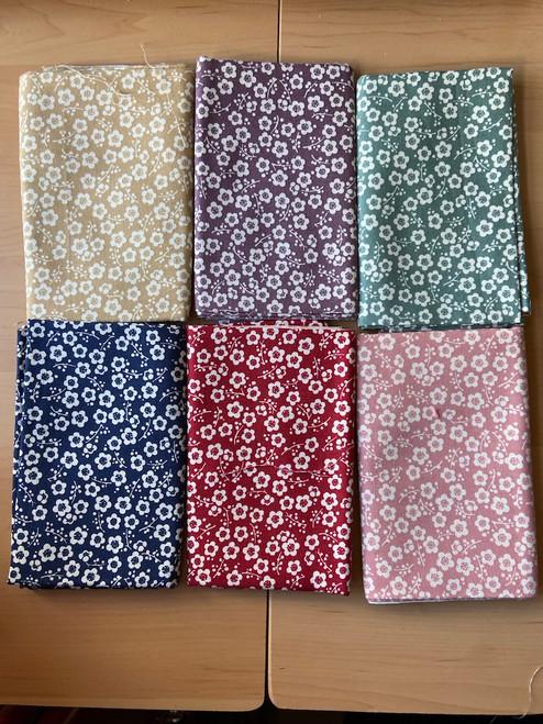 Plum Blossoms Fabric Bundle