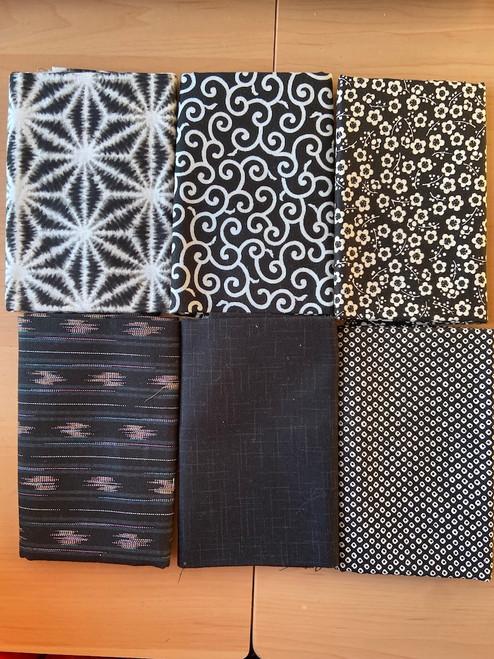 Kuro/Shiro Black and White Fabric Bundle