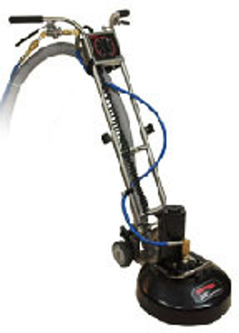 "Rotovac: 360i Rotary Carpet Cleaning Machine, R-VAC-360i | The Rotovac 360i is a Patent Pending Rotary Extraction Power Head that utilizes rotary vacuum heads to thoroughly deep clean carpet with hundreds of multi-directional cleaning passes.  The 360i weighs only 39 lbs and is extremely easy to use as it operates in a self propelled side to side motion. Simply stated, ""The 360i cleans better with less effort."""
