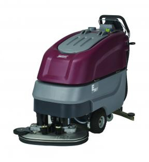 "Minuteman: E26 ECO Disc Brush Automatic Scrubber, E26ECOQP | The E26 is a disc brush scrubber with a 26"" cleaning path."