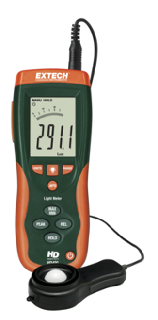 EXTECH HD400 HEAVY DUTY LIGHT METER, 1627-2054