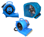 Carpet Dryers - Air Movers - Blowers