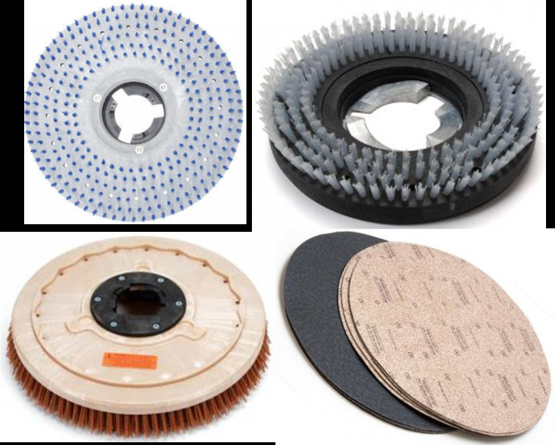 Floor Machine Pad Drivers & Scrub Brushes