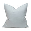Simone PURE LINEN Pillow Aquamarine - Front