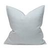 Simone PURE LINEN Pillow Aquamarine - Front