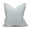 Simone PURE LINEN Pillow Aquamarine - Back