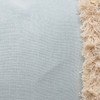 Muse 22 PURE LINEN Pillow Aquamarine - Detail